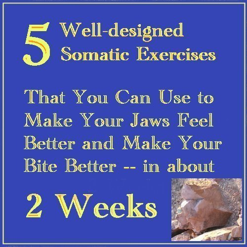 Well-designed Somatic Exercises You Can Use to Make Your Jaws Feel Better and Your Bite Better - in about 2 Weeks