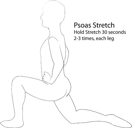 PSOAS STRETCH ATTEMPT